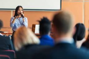 speak better during presentations
