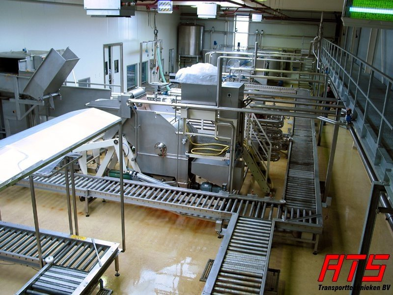 ATS Drum conveyor stainless steel