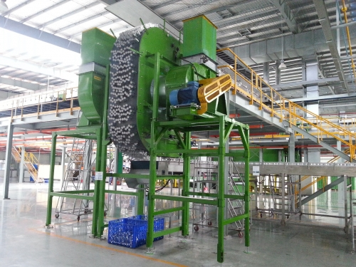 Vacuum Mass Elevator for can manufacturing