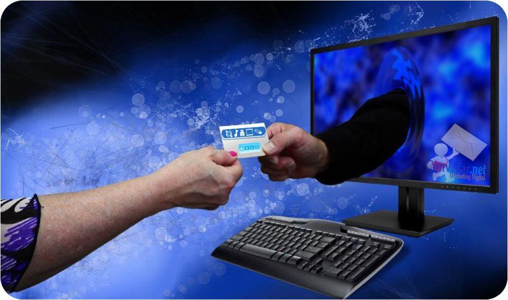 Cartão de visita online - A melhor informação de você