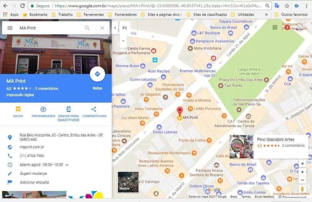 Melhorar posição de classificação no Google Maps – Complemento