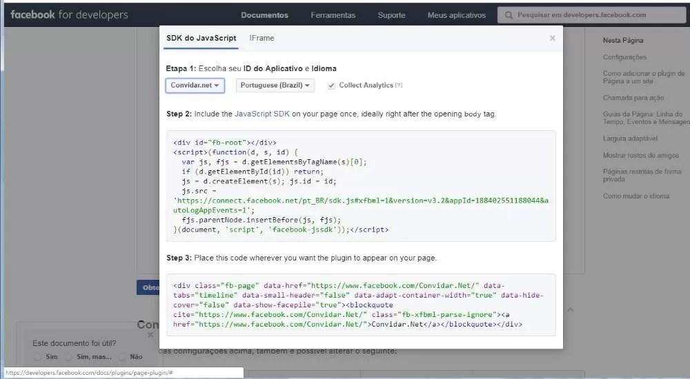 Tráfego orgânico para páginas do Facebook - Developers Facebook
