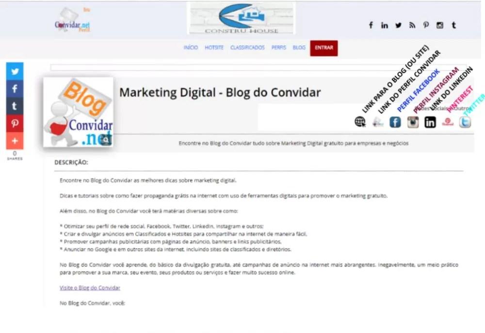 conseguir backlinks para seu site ou blog com página de perfil
