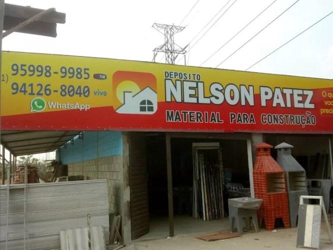 Depósito de materiais de construção Nelson Patez