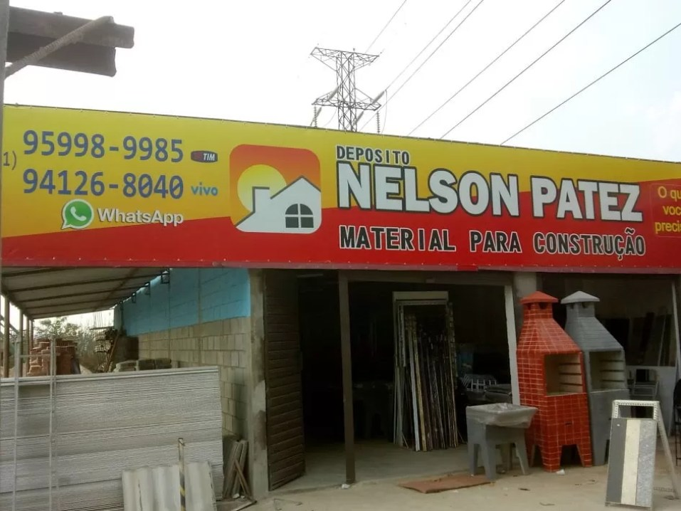 Depósito de materiais para construção Nelson Patez