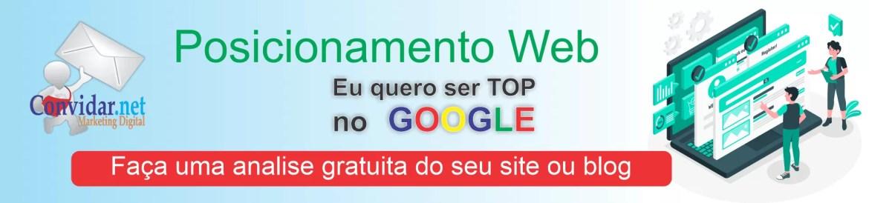 Análise gratuita de posicionamento web - Marketing online gratuito