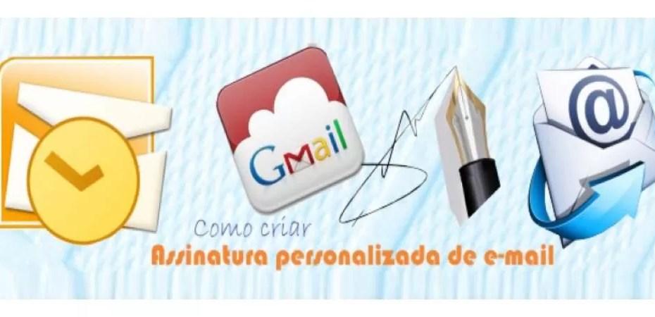 Assinatura personalizada de e-mail