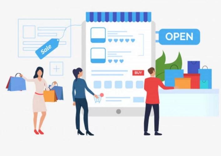 Marketplace por que ele pode ser importante para uma empresa apresentacao de modelo de slide de venda