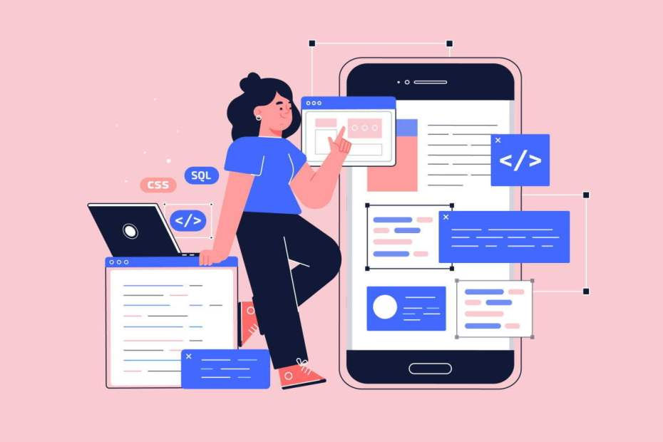 a Importância de um Layout app-development-illustration