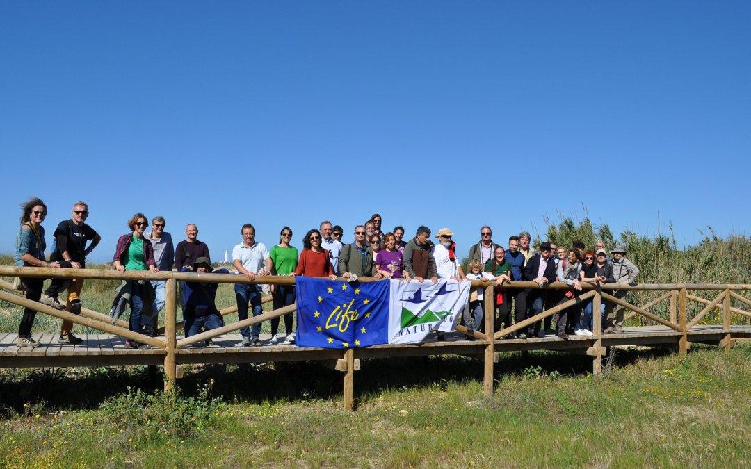 """Asistimos al taller técnico de """"Conservación y  Restauración de hábitats litorales"""" organizado por el proyecto LIFE CONHABIT"""
