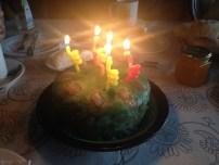 Torta de yaya, la primera :)