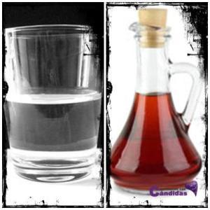 agua y vinagre