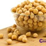 garbanzos,  legumbres y candidiasis
