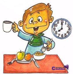 desayuno para gente con candidiasis
