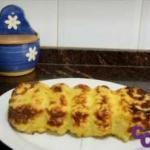 Pastel de coliflor apto en dieta anticándida