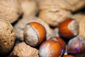 navidad y candidiasis frutos secos