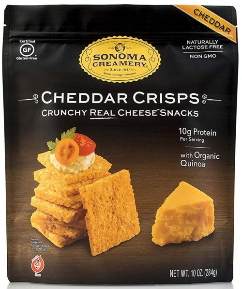 Sonoma Creamery Cheddar Cheese Crisps