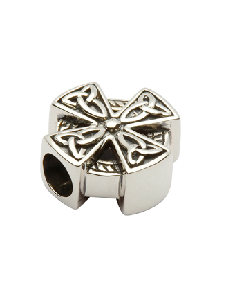 Celtic Cross Bead Charm