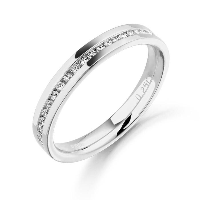 292a8e8183f Ladies Platinum Diamond Wedding Ring - Conway s Jewellers