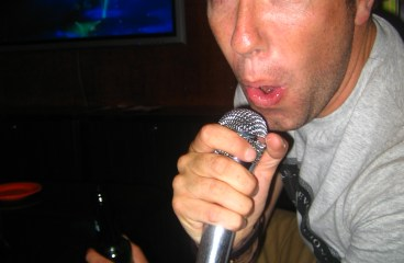 Karaoke in Beijing (Peking) China