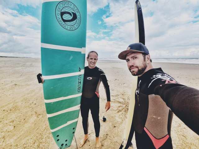Leren surfen!