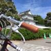 自転車で京都を…