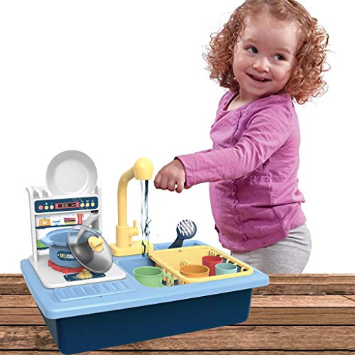 dishwasher toy sink with running water