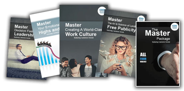 Video Tools from the COO Alliance shop to improve your leadership as a COO