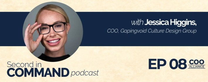 Second In Command Podcast - Jessica Higgins (COO Alliance)