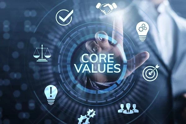 SIC 57 | Core Company Values