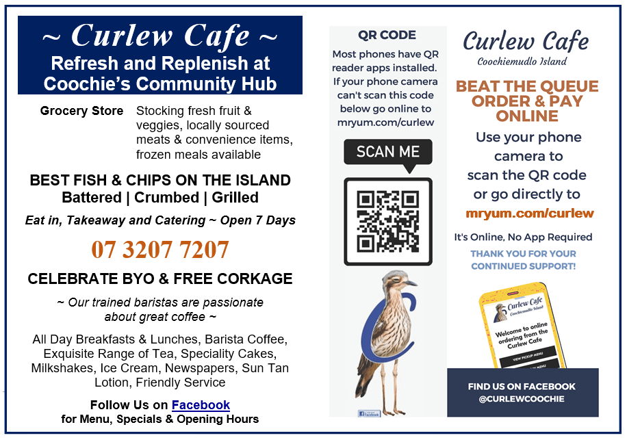 Curlew Cafe Coochie