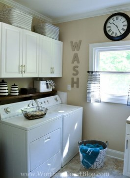 Genius Laundry Room Storage Organization Ideas 36