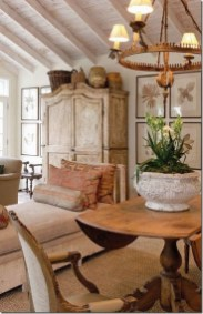 Incredible Fancy French Country Dining Room Design Ideas 02