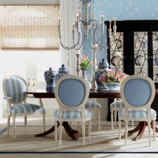 Incredible Fancy French Country Dining Room Design Ideas 14