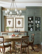 Incredible Fancy French Country Dining Room Design Ideas 32