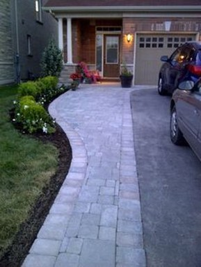 Stunning Front Yard Path Walkway Design Ideas 53