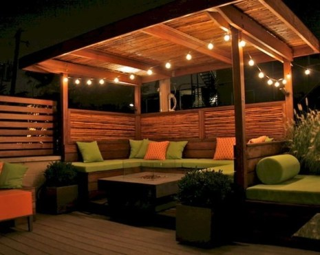 Amazing Backyard Seating Design Ideas 24