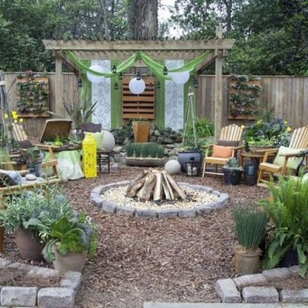 Amazing Backyard Seating Design Ideas 28