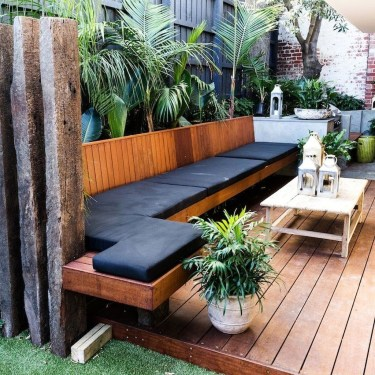 Amazing Backyard Seating Design Ideas 38