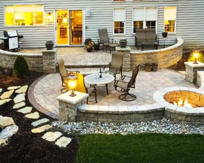 Amazing Backyard Seating Design Ideas 48