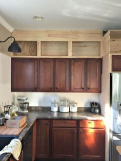 Awesome Decorating Above Kitchen Cabinets 40