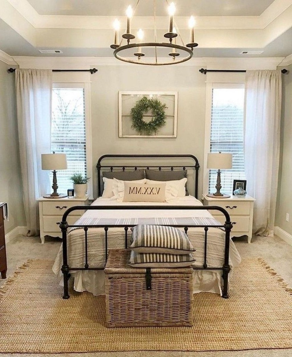 Awesome Farmhouse Style Master Bedroom Ideas 01