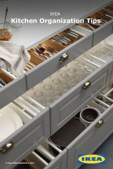 Best Ways To Organize Kitchen Cabinet Efficiently 37
