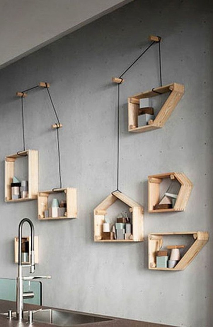 Cheap Decorative Box Shelves Ideas 01