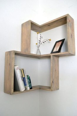 Cheap Decorative Box Shelves Ideas 14