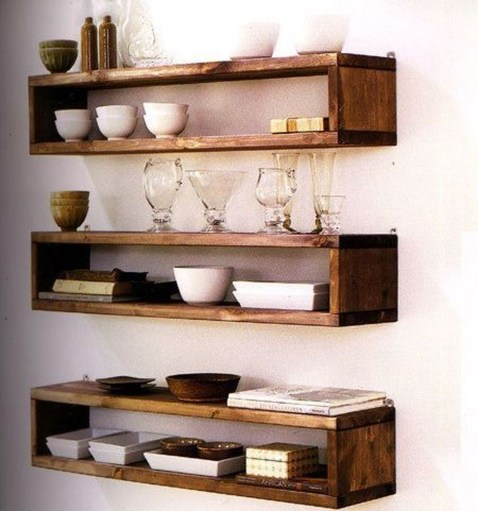 Cheap Decorative Box Shelves Ideas 19
