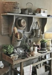 Cool Rustic Farmhouse Kitchen Ideas 05