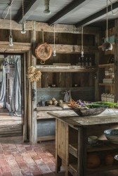 Cool Rustic Farmhouse Kitchen Ideas 34