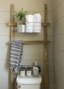 Gorgeous Rustic Farmhouse Bathroom Decor Ideas 01