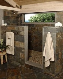 Gorgeous Rustic Farmhouse Bathroom Decor Ideas 28